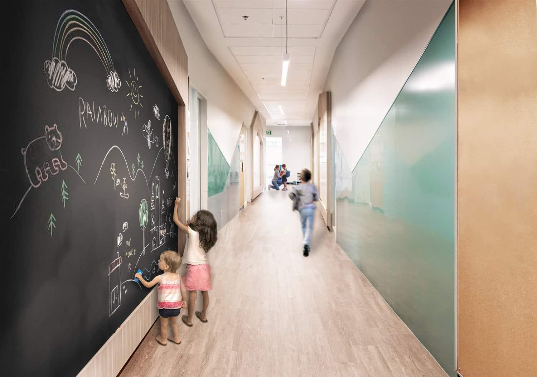 Interactive Hallway